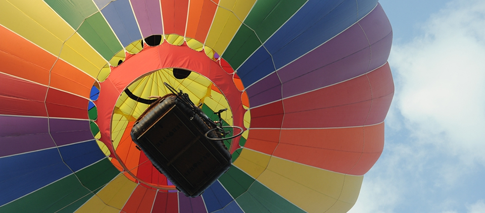 Going Up During the Bicycle Balloon Race